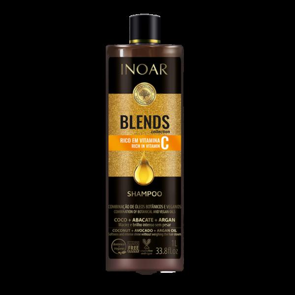 INOAR Blends Shampoo – šampūnas su vitaminu C 1000 ml