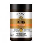 INOAR Blends Styling Cream - plaukų formavimo kremas su vitaminu C 1000 g