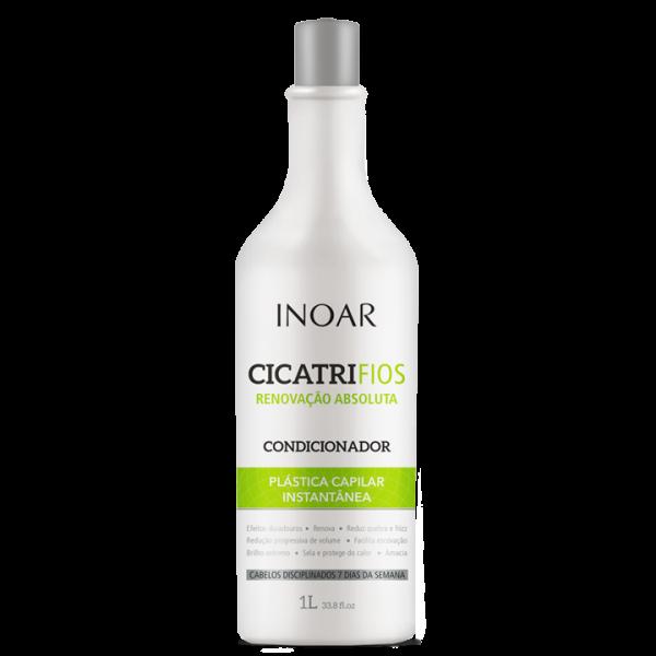 INOAR CicatriFios Conditioner - plauko struktūrą atkuriantis kondicionierius 1000 ml