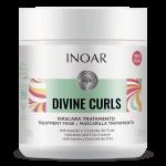 INOAR Divine Curls Mask - kaukė garbanotiems, banguotiems plaukams 500 g