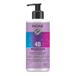 INOAR 4D Conditioner - 4 dimensijų kondicionierius 400 ml