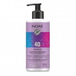 INOAR 4D Shampoo - 4 dimensijų šampūnas 400 ml