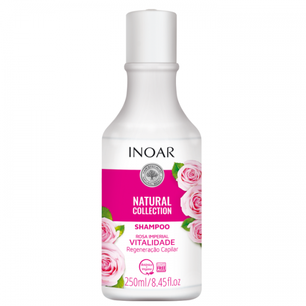 INOAR Rosa Imperial Shampoo - šampūnas su rožių ekstraktu 250 ml