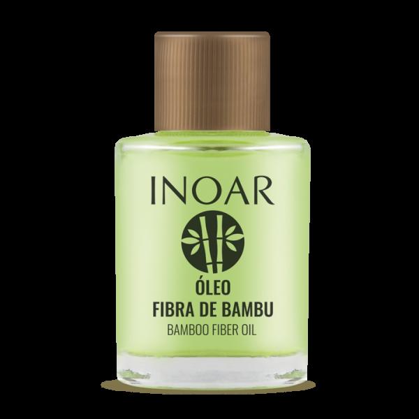 INOAR Resistance Fibra de Bambu Oil - stiprinantis ir blizgesio suteikiantis aliejus plaukams 7 ml