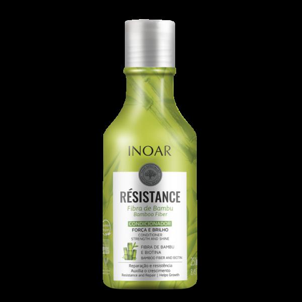 INOAR Resistance Fibra de Bambu Conditioner - plaukus stiprinantis kondicionierius 250 ml