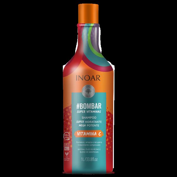 #Bombar Super Vitamins Shampoo - šampūnas praturtintas vitaminais 1000 ml