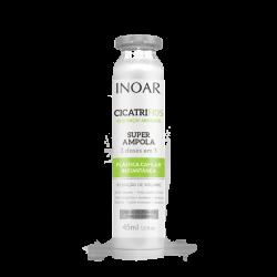 INOAR CicatriFios Super Ampola - plauko struktūrą atkurianti ampulė 45 ml