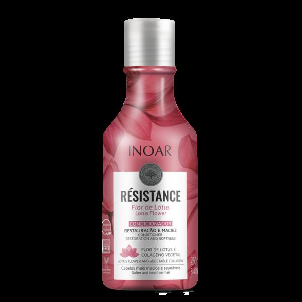 INOAR Resistance Flor de Lotus Conditioner - plaukus drėkinantis kondicionierius 250 ml