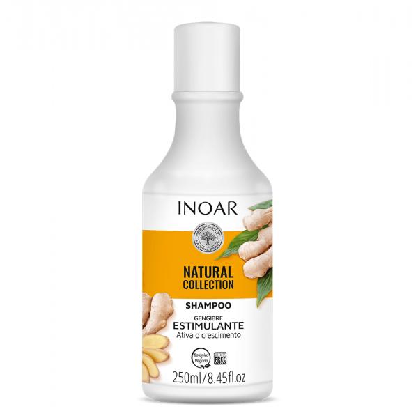 INOAR Gengibre Shampoo - stimuliuojantis šampūnas su imbiero ekstraktu 250 ml