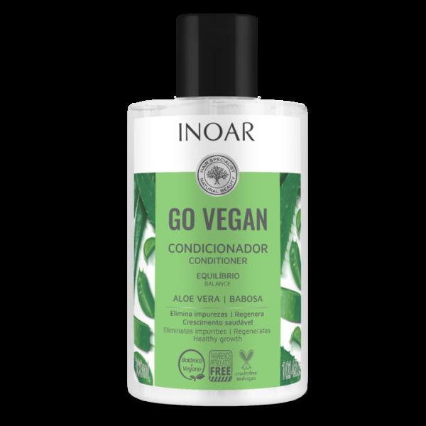 Go Vegan Balance Conditioner - balansuojantis kondicionierius su alaviju 300 ml