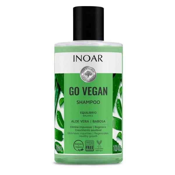 Go Vegan Balance Shampoo - balansuojantis šampūnas su alaviju 300 ml