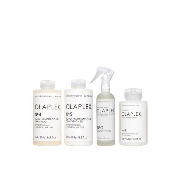 Olaplex rinkinys - šampūnas, kondicionierius ir atstatomoji priemonė