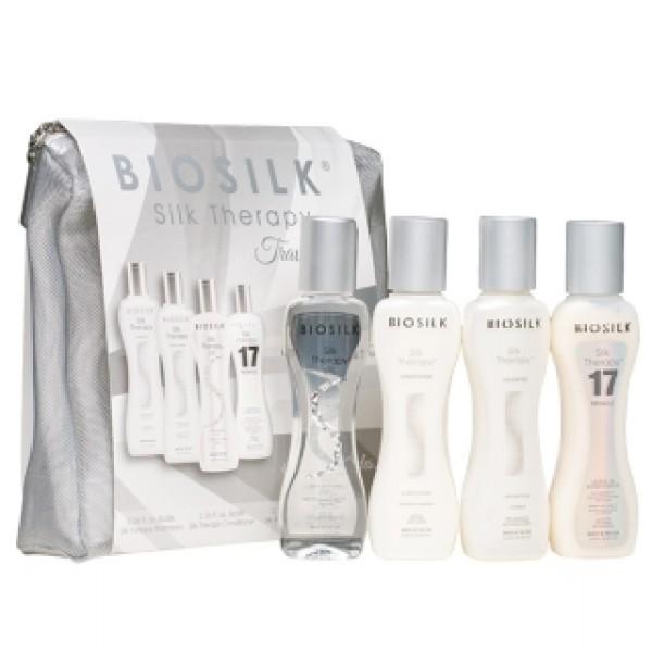 Biosilk Silk Therapy kelioninis rinkinys 4x69ml