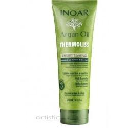 INOAR Argan Oil Thermoliss Thermo-Active Defrizzing Balm - tiesinamasis balzamas 240ml