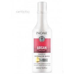 INOAR Argan Infusion Loss Control Shampoo - šampūnas stabdantis plaukų slinkimą 250ml